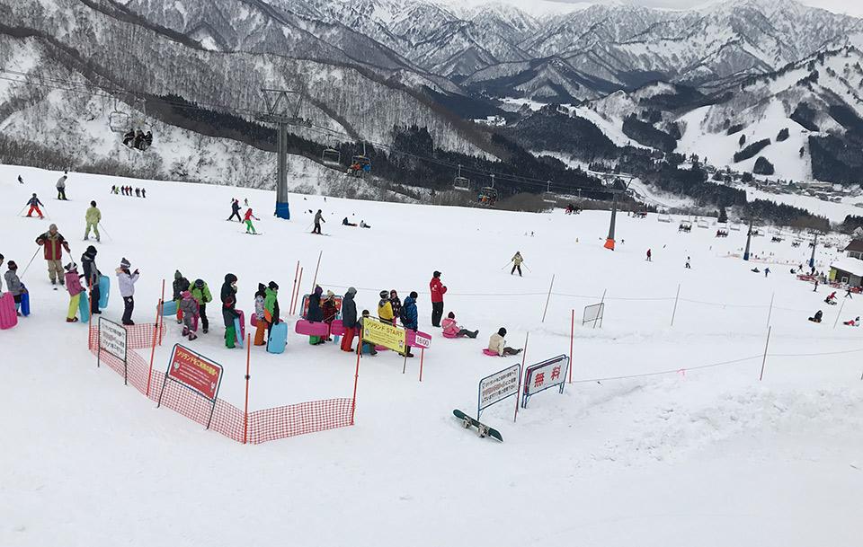 いわっ ぱら スキー 場